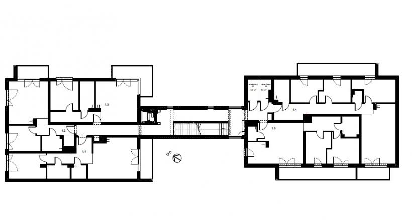 Melia Apartamenty II - Piętro 1