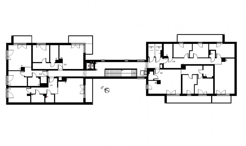 Melia Apartamenty II - Piętro 3