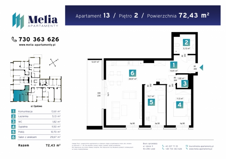 Apartament nr. 13