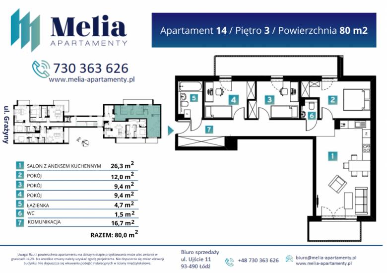 Apartament nr. 14